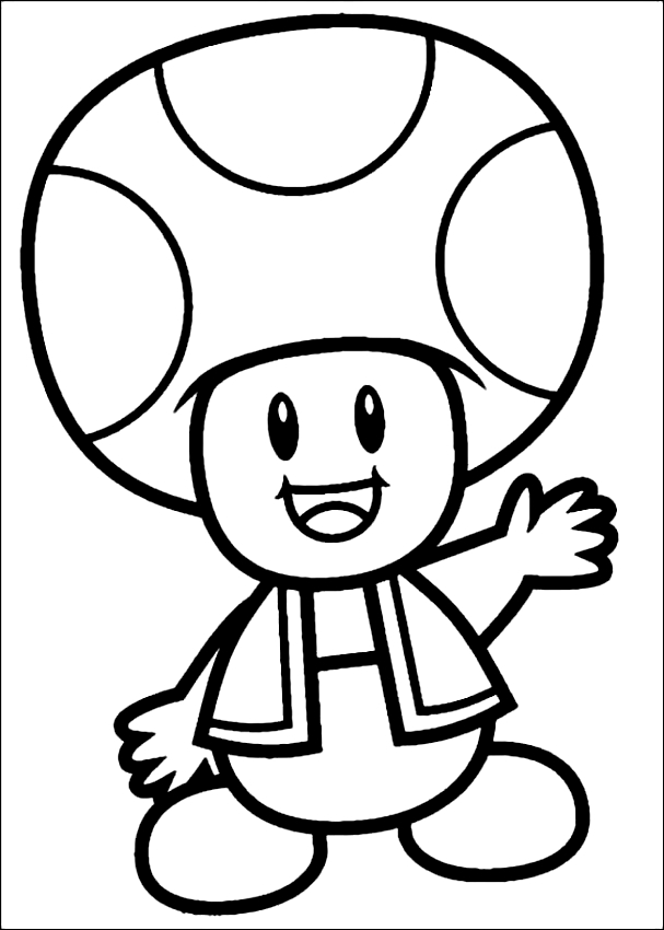 toad coloring pages from super mario mario mushroom drawing free download on clipartmag from mario coloring toad pages super