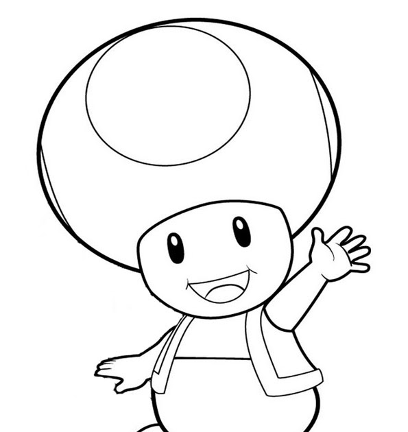 toad coloring pages from super mario nintendo toad pages coloring pages from pages mario super toad coloring