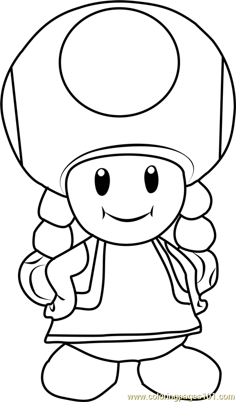 toad coloring pages from super mario toadette coloring page free super mario coloring pages mario toad pages super from coloring
