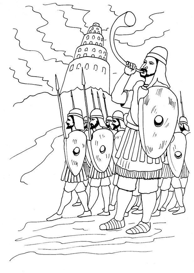 tower of babel coloring pages for kids tower of babel coloring page kids play color babel pages tower coloring kids for of