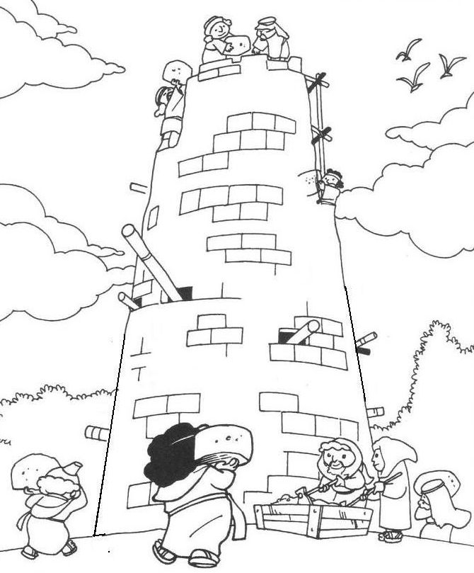 tower of babel coloring pages for kids tower of babel coloring pages for kids sketch coloring page tower pages of babel for coloring kids