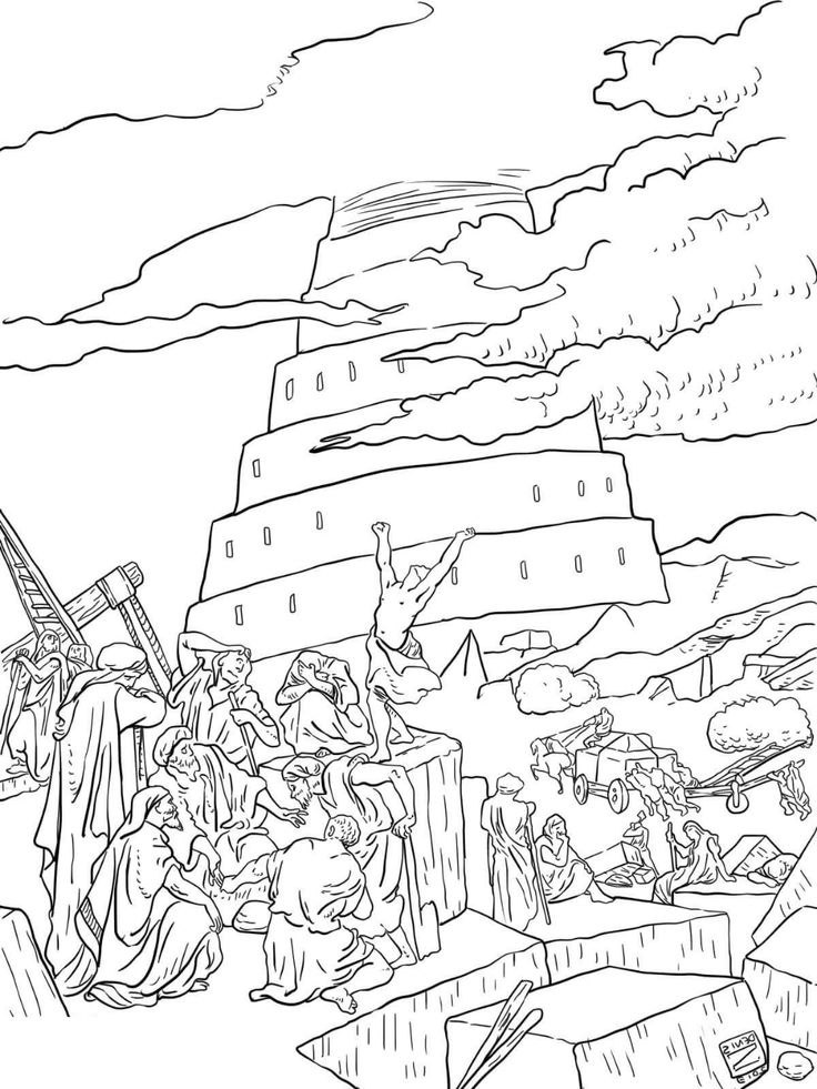 tower of babel coloring pages for kids tower of babel coloring pages sunday school coloring tower pages babel kids coloring for of