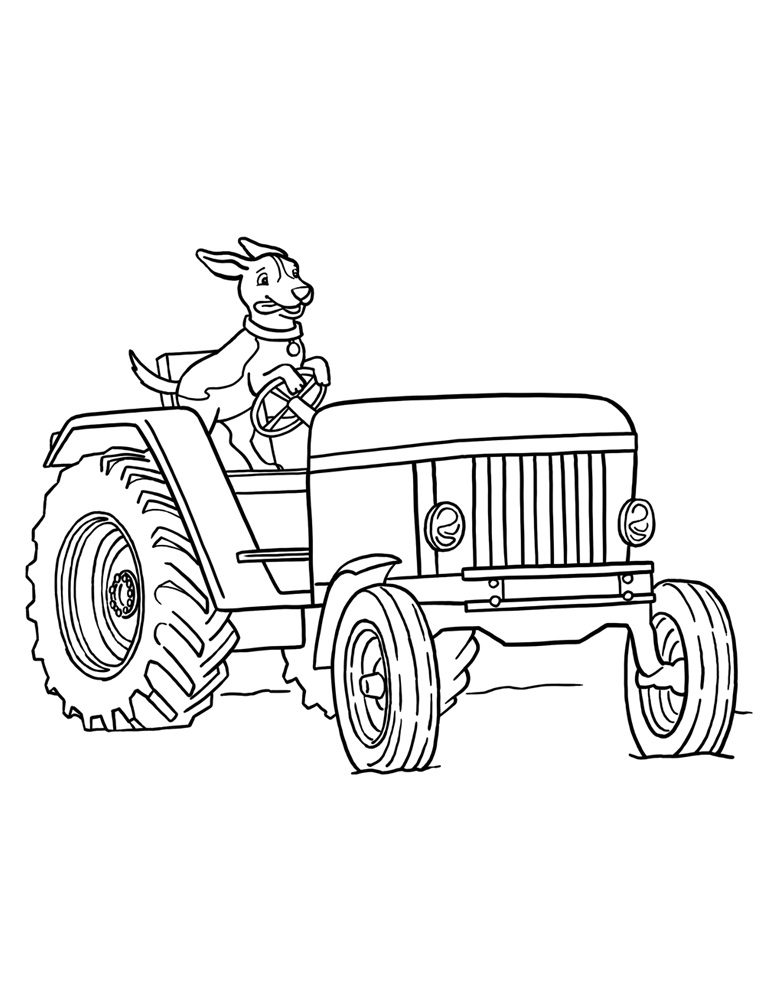 tractor coloring to print earthy tractor coloring pages farm tractors free farmers print coloring tractor to