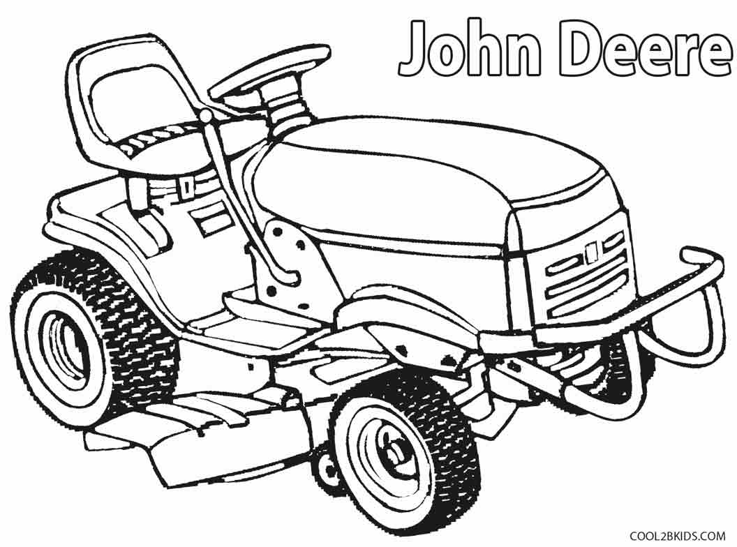 tractor coloring to print printable john deere coloring pages for kids cool2bkids print coloring tractor to