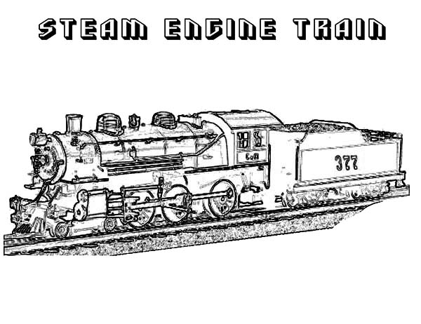 train engine coloring steam engine train on railroad coloring page color luna coloring engine train