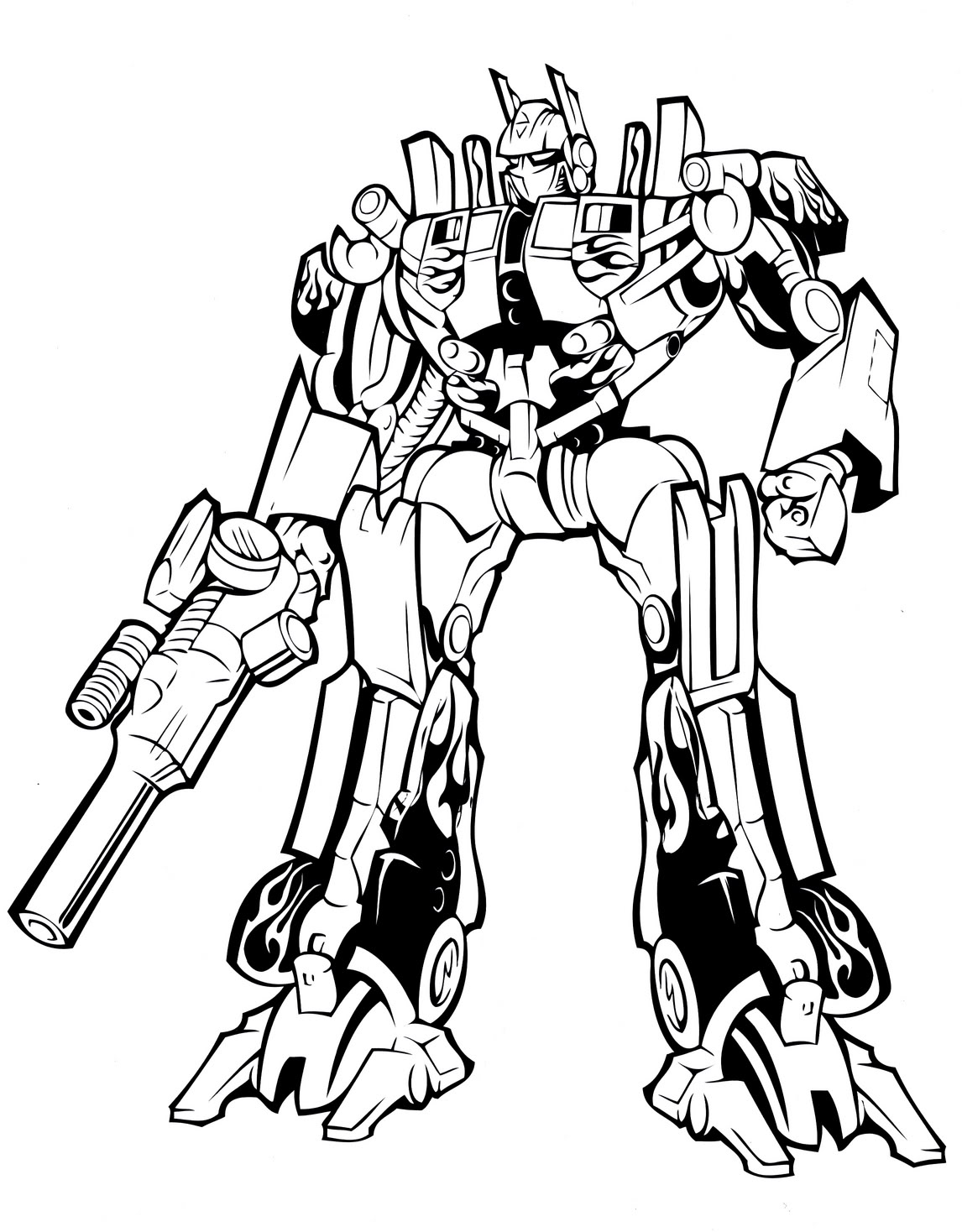 transformer colouring in transformers coloring pages free download on clipartmag in transformer colouring