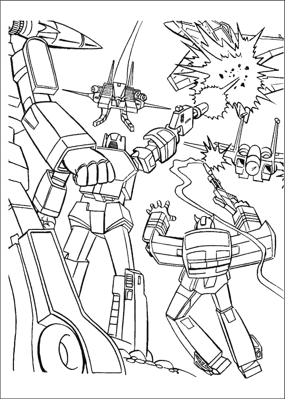 transformer colouring in transformers g1 coloring pages download and print for free colouring in transformer