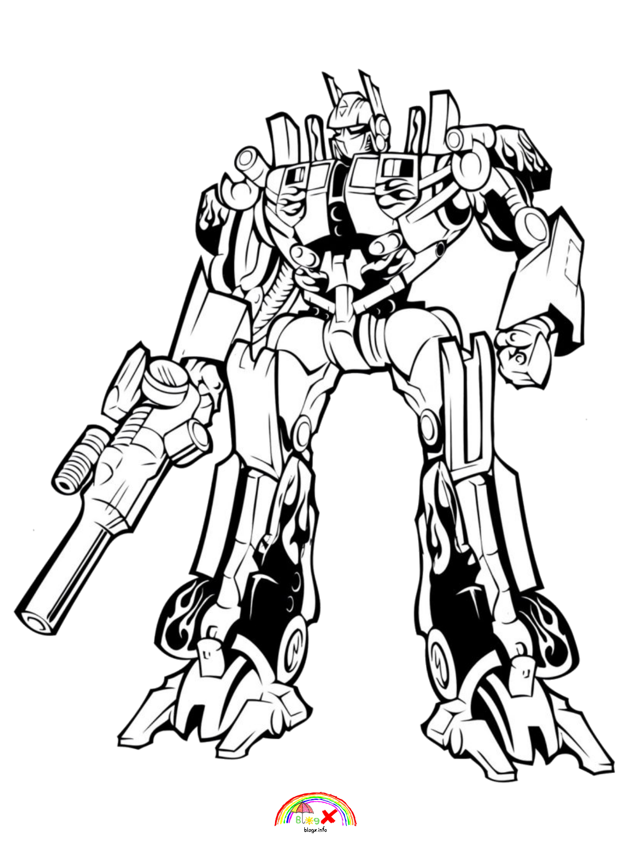 transformer for coloring free easy to print transformers coloring pages tulamama coloring transformer for