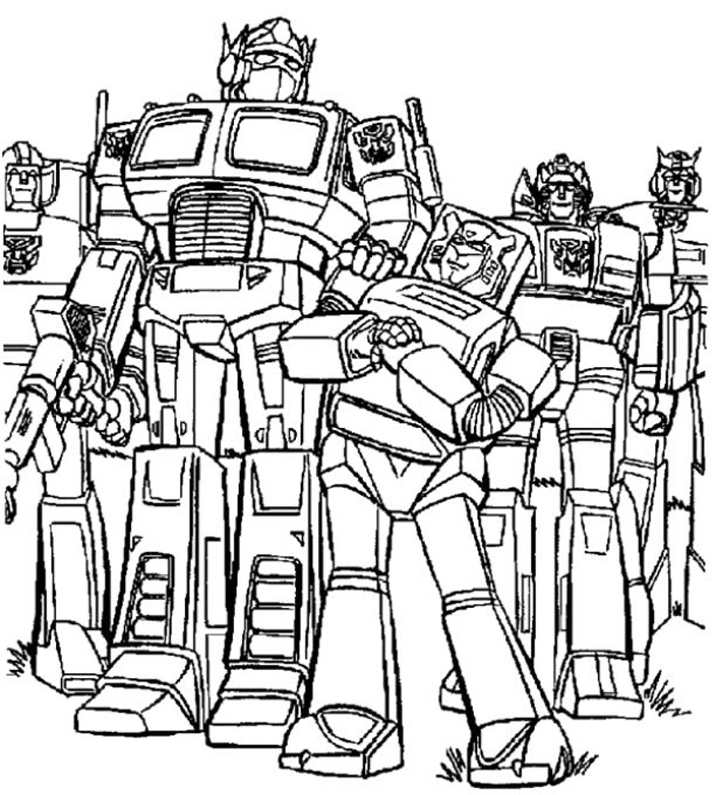transformer for coloring print download inviting kids to do the transformers for coloring transformer 1 1