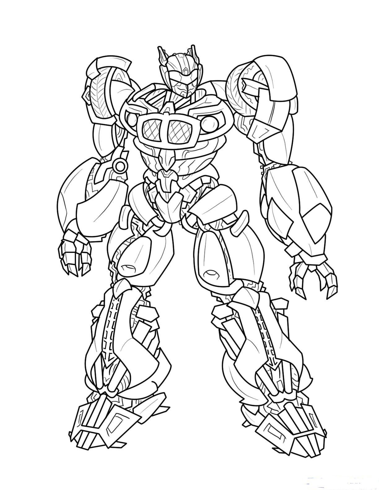 transformer for coloring transformer robot in disguise bumblebee coloring pages transformer for coloring