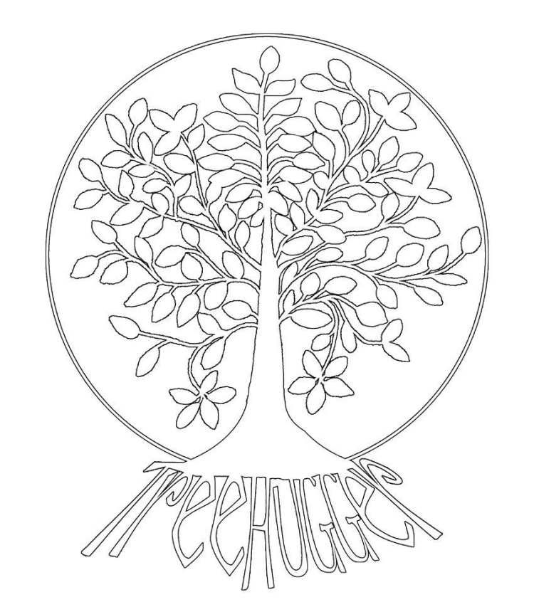 tree of life coloring instant download coloring page tree of life peace art life tree coloring of