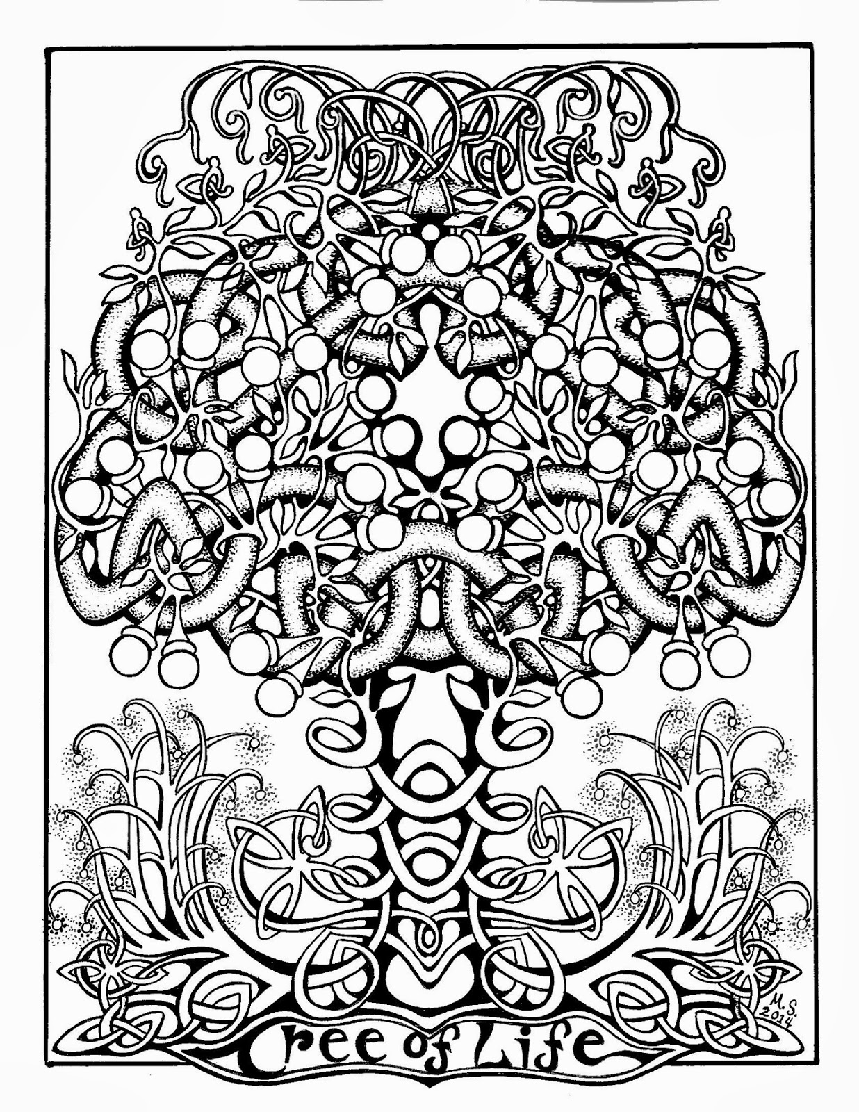 tree of life coloring tree of life by ellfideviantartcom on deviantart life tree coloring of