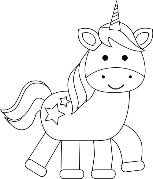 unicorn print out free printable build a unicorn craft for kids mrs merry out unicorn print