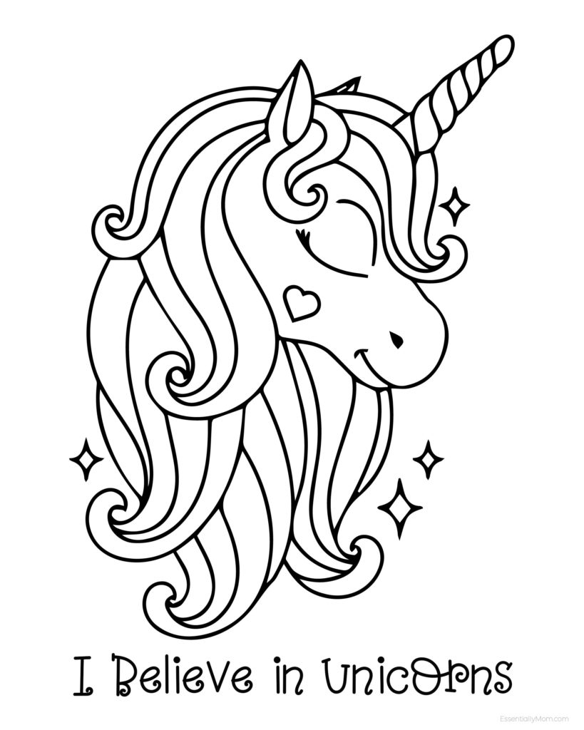 unicorn print out unicorn coloring pages to download and print for free out print unicorn