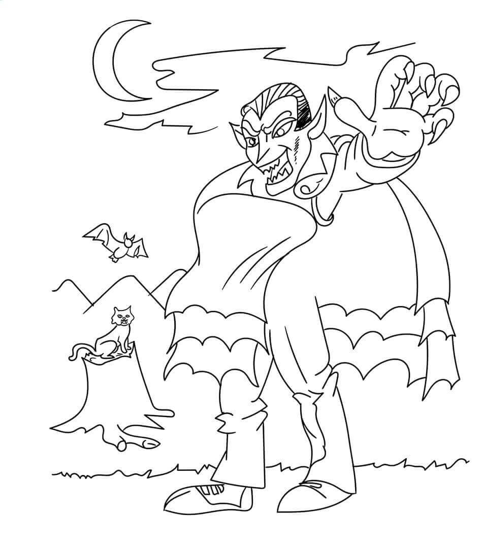 vampire coloring 30 free printable vampire coloring pages coloring vampire