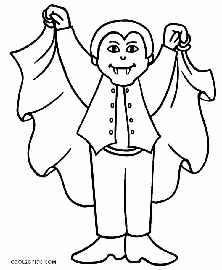 vampire coloring printable vampire coloring pages for kids cool2bkids vampire coloring 1 2