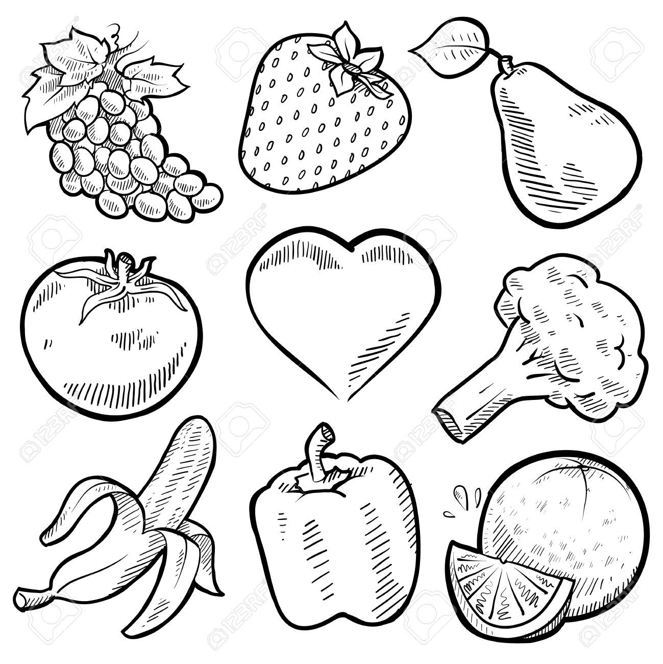 vegetables drawing for coloring coloring book pdf download drawing for coloring vegetables