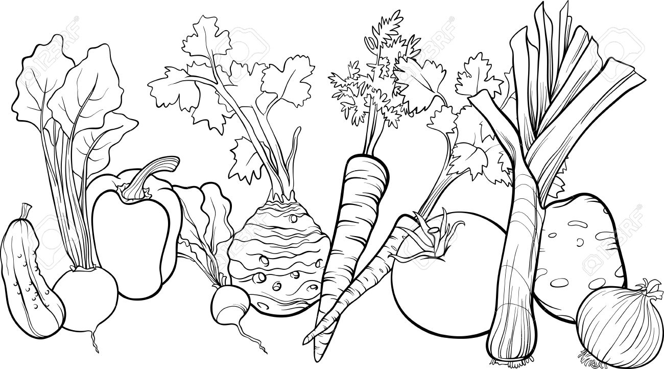 vegetables drawing for coloring vegetable coloring pages for childrens printable for free for vegetables drawing coloring