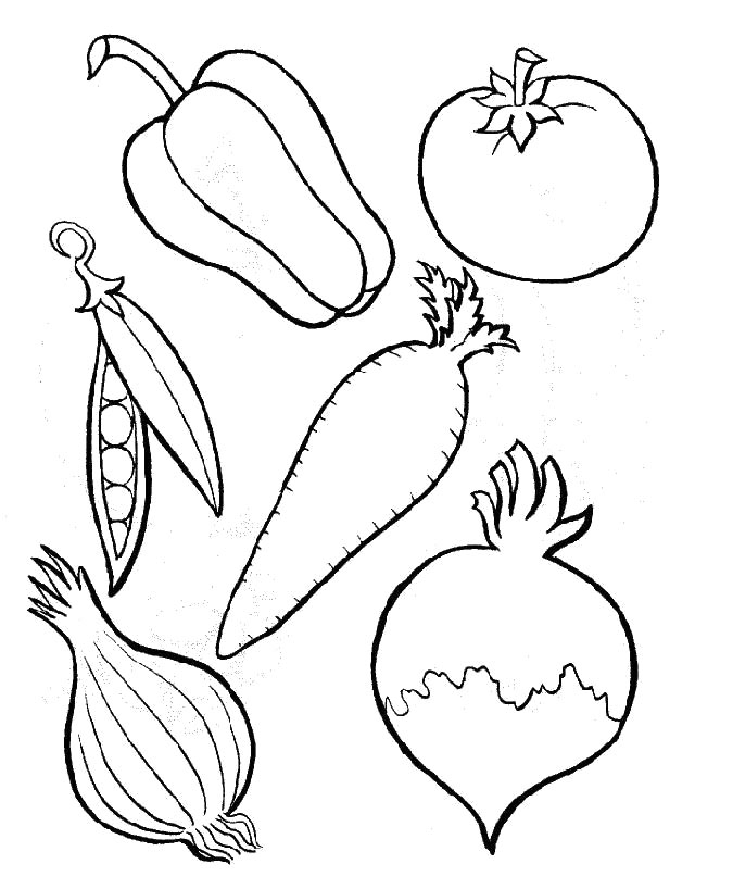 vegetables drawing for coloring vegetable coloring pages printable beautiful elegant drawing vegetables for coloring