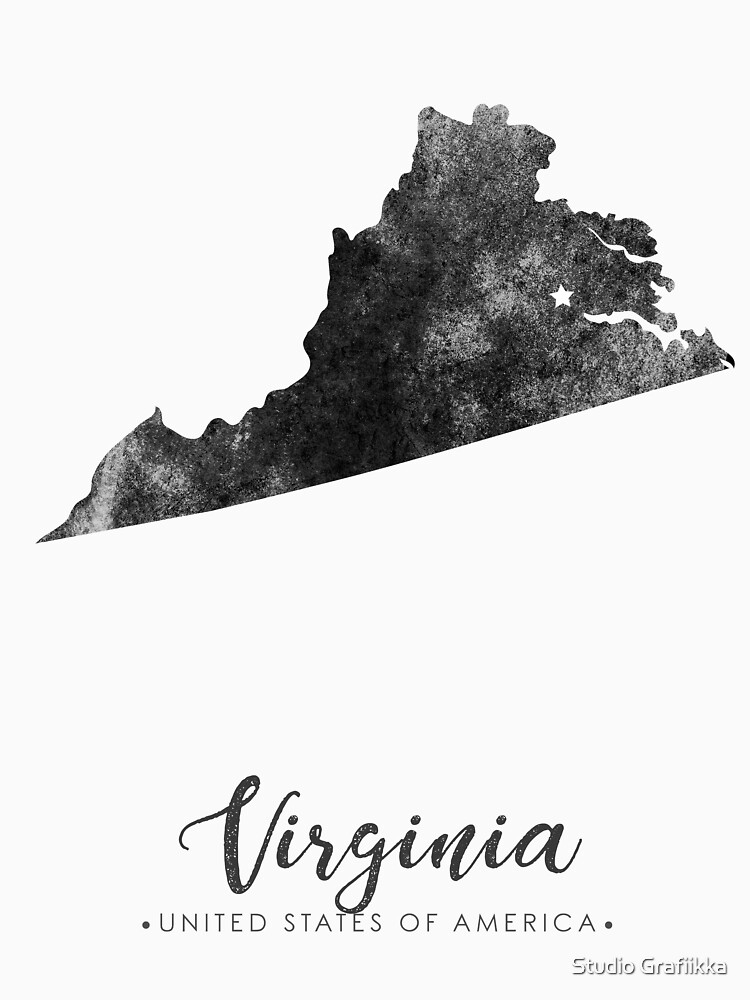 virginia silhouette virginia state outline set into a map of the united states silhouette virginia