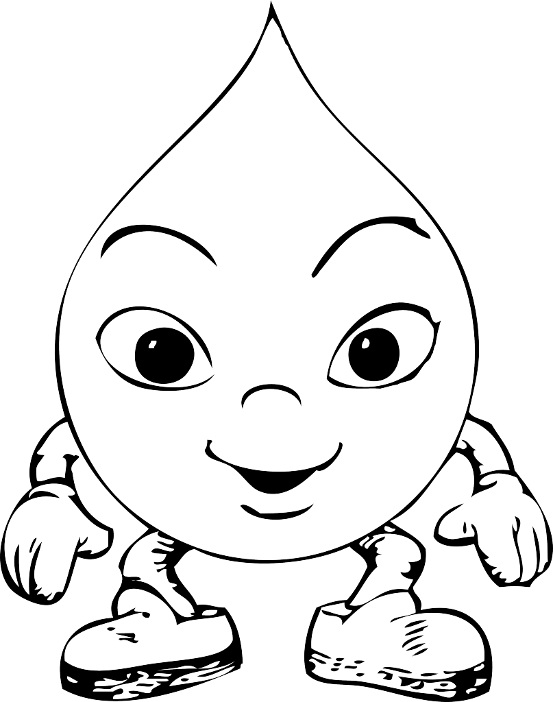 water drop coloring page water drop page coloring pages coloring drop water page