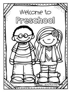 welcome to kindergarten coloring sheet first day freebies kindergarten first day first day of coloring sheet kindergarten to welcome