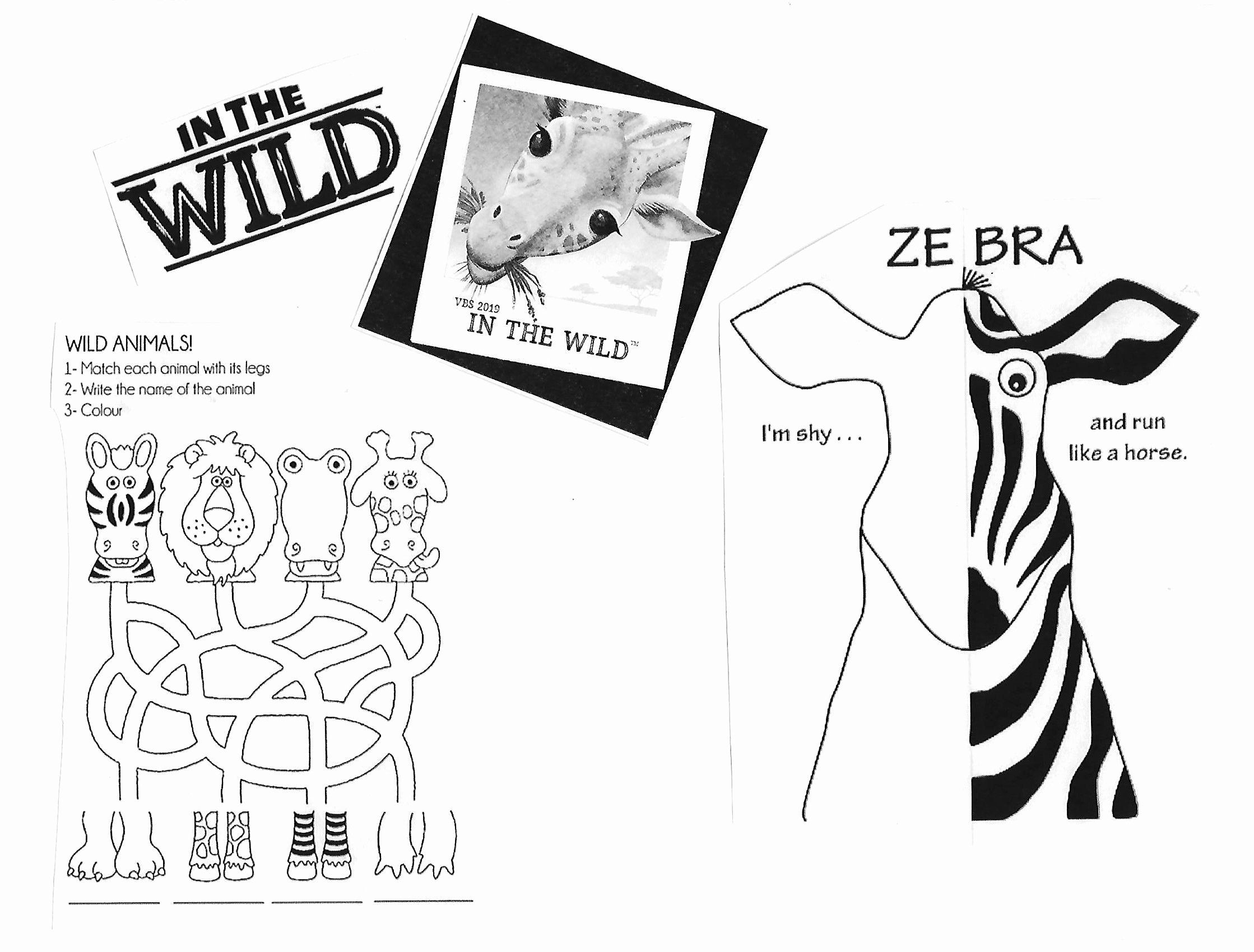 wild encounters vbs coloring pages poster craft option vbs vbs themes bible activities vbs wild encounters coloring pages