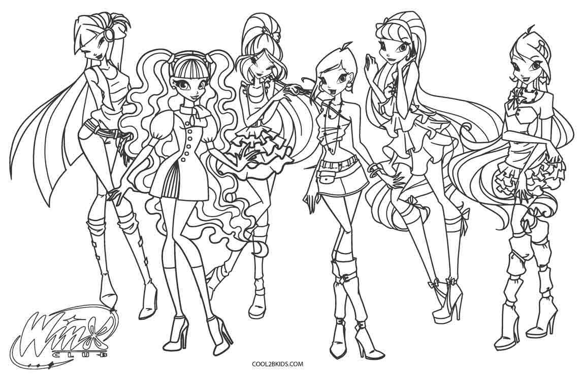 winx coloring pages enchanted magical winx winx colouring pages coloring winx pages