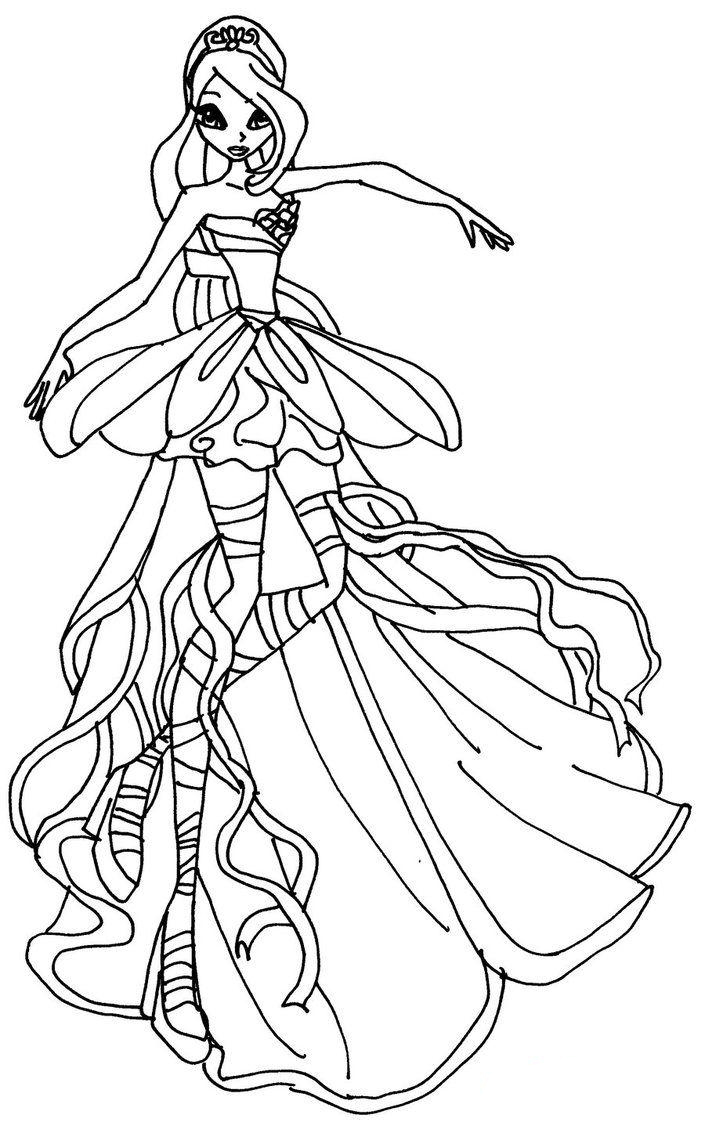 winx coloring pages free printable winx club coloring pages for kids coloring winx pages