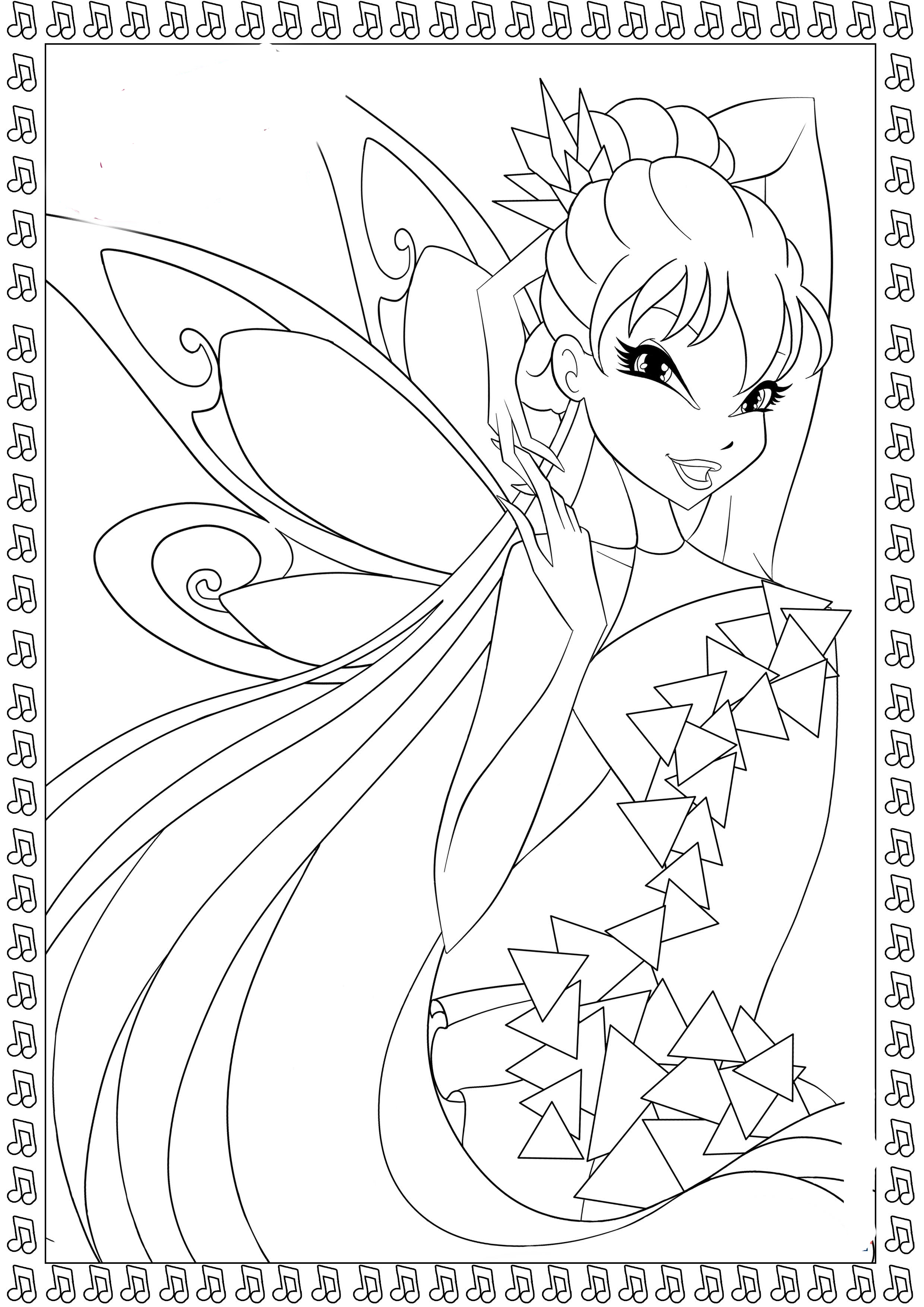 winx coloring pages winx tynix coloring pages to download and print for free coloring pages winx