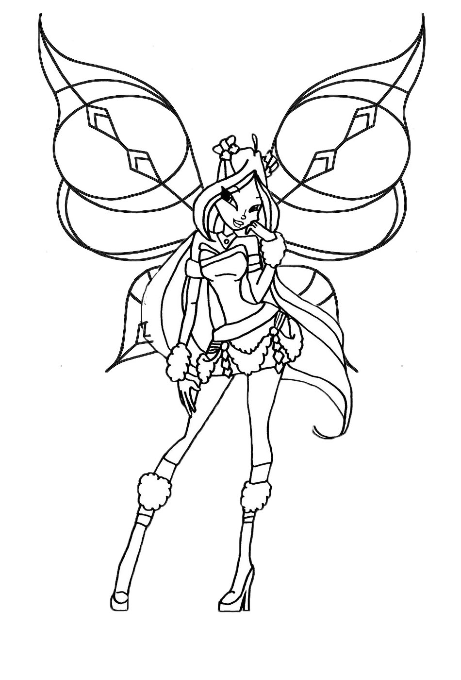 winx coloring pages world of winx coloring pages casual outfit coloring pages winx