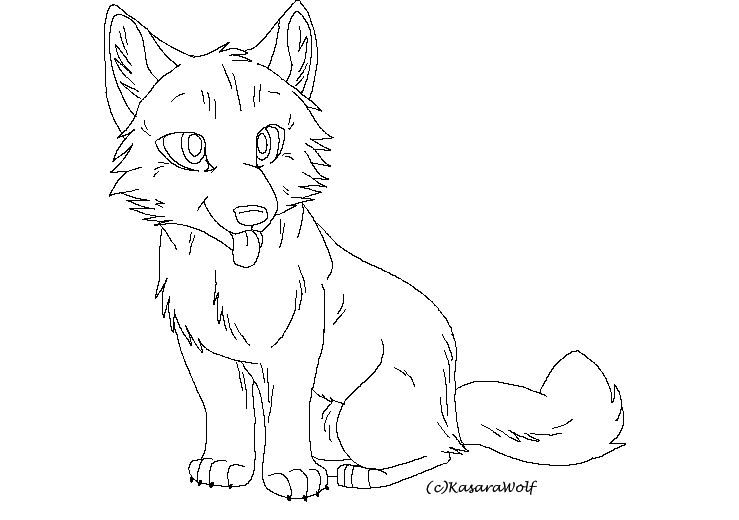 wolf pup coloring pages free wolf pup lineart by atani1 on deviantart wolf coloring pup pages