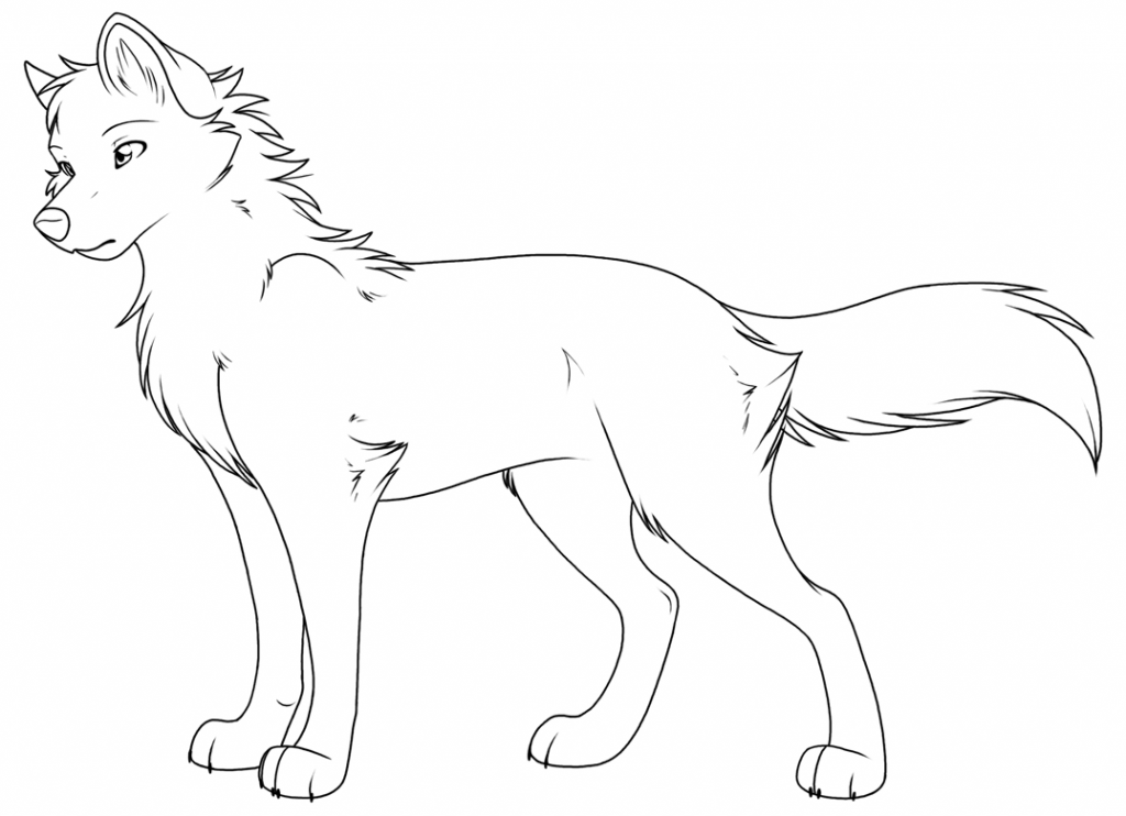 wolf pup coloring pages three wolf pups lineart by firewolf anime on deviantart wolf pages pup coloring