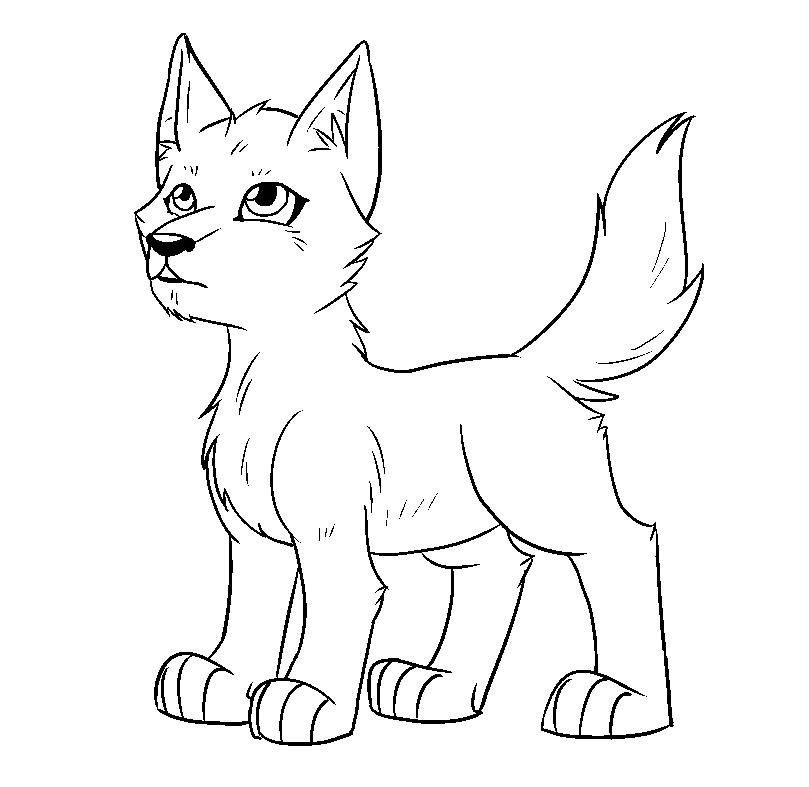 wolf pup coloring pages wolf pup drawing outline pup coloring pages wolf