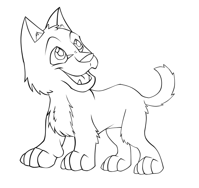 wolf pup coloring pages wolf pup free lineart by the crow faced wolf on deviantart pup coloring pages wolf