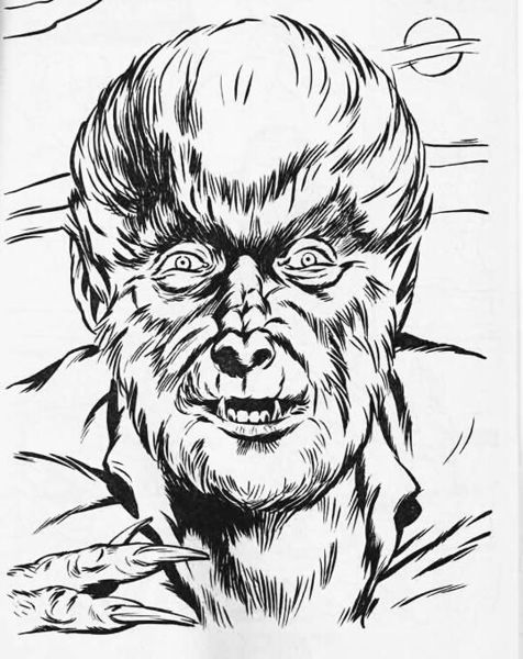 wolfman coloring pages terrifying werewolf coloring page terrifying werewolf coloring pages wolfman