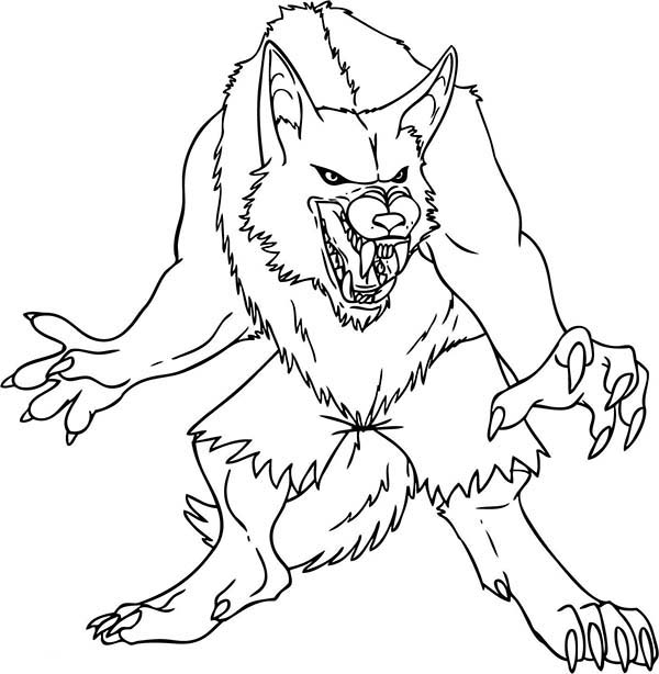 wolfman coloring pages werewolf aristocrat by wolflsi on deviantart werewolf coloring wolfman pages