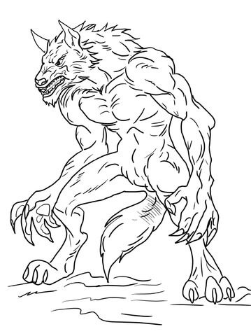 wolfman coloring pages werewolf coloring pages coloring pages to download and print coloring pages wolfman