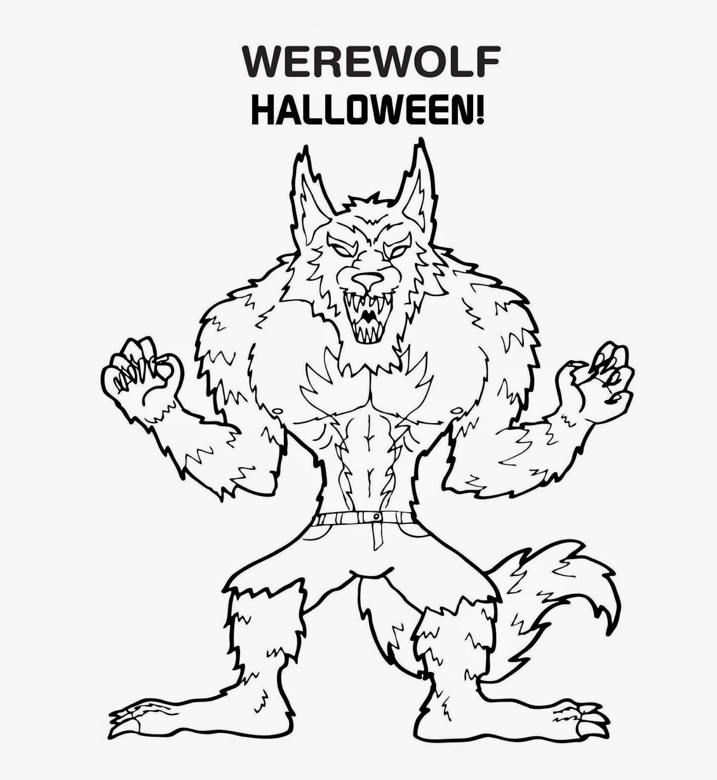 wolfman coloring pages werewolf coloring pictures coloring home coloring pages wolfman 1 1