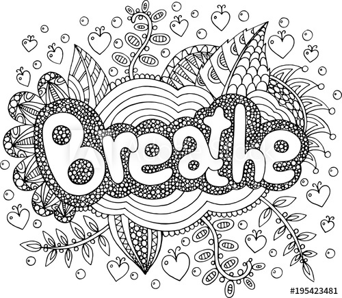 word mandala coloring pages coloring page for adults with mandala and focus word mandala coloring pages word