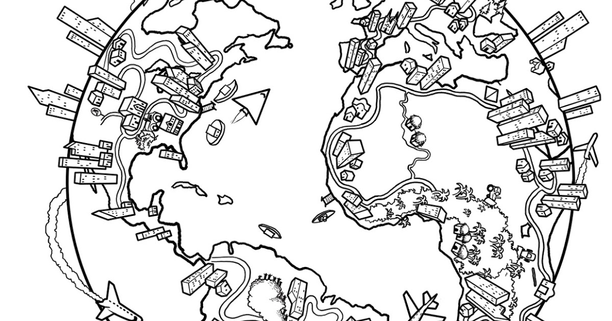 world globe coloring page earth globe coloring page wecoloringpage 011 world page coloring globe