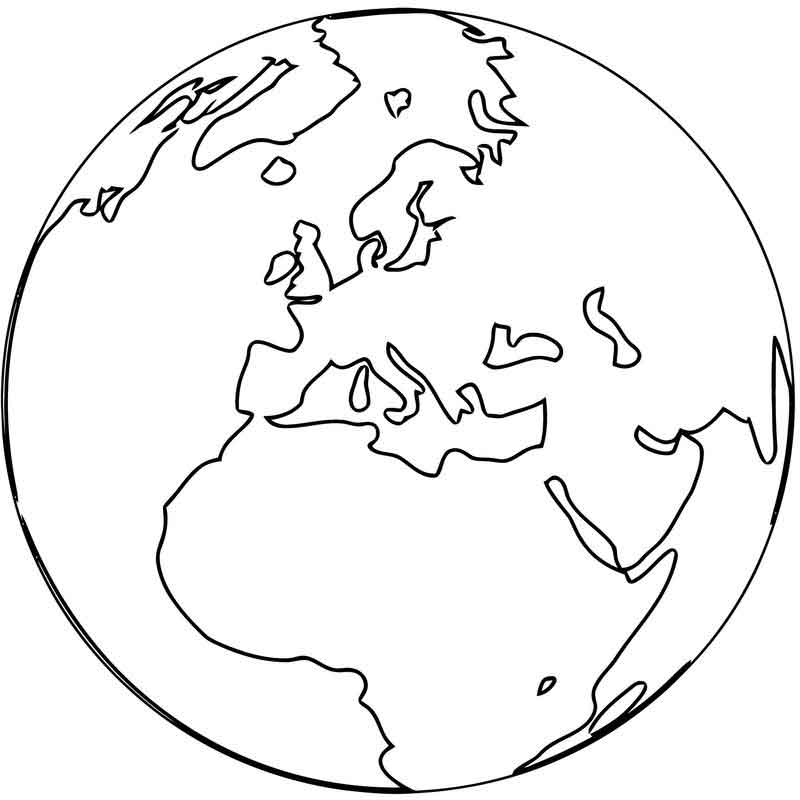 world globe coloring page earth globe coloring sheet page globe world coloring