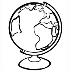 world globe coloring page get this free earth coloring pages to print t29m7 page coloring globe world