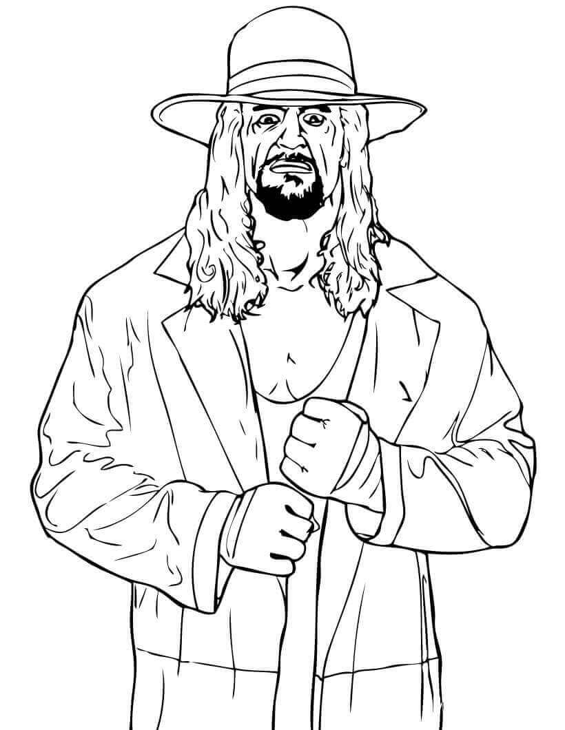 wwe color sheets wwe wrestler coloring pages coloring home sheets wwe color