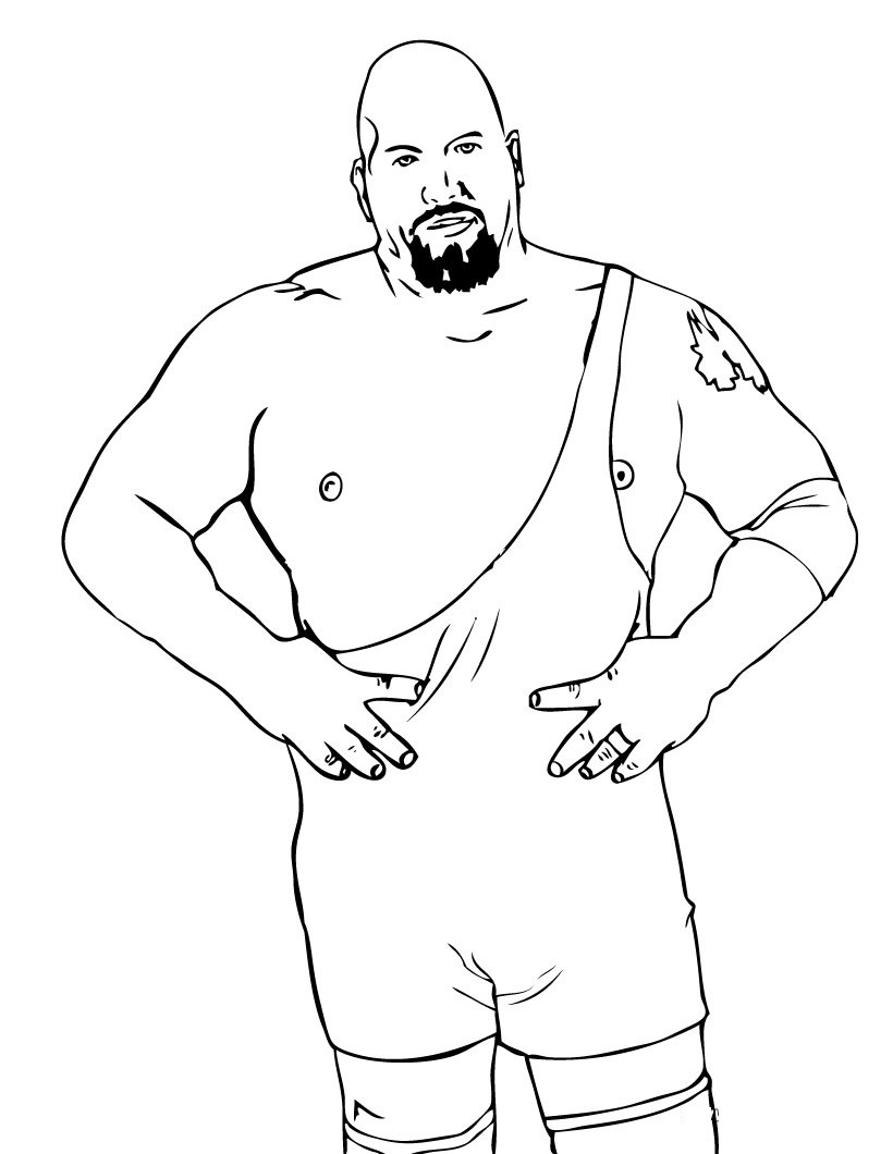 wwe colouring pictures wwe coloring pages online fcp colouring wwe pictures