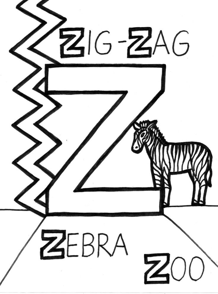 z is for zipper coloring page 17 best images about letter z activities on pinterest coloring page z for is zipper