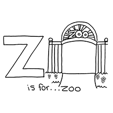 z is for zoo coloring page 17 best images about z is for zebra on pinterest dovers for z coloring is zoo page