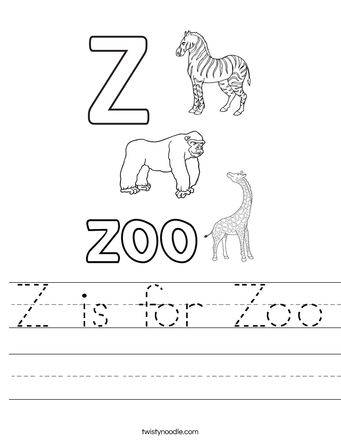 z is for zoo coloring page letter z is for zipper coloring page free printable zoo page coloring is z for