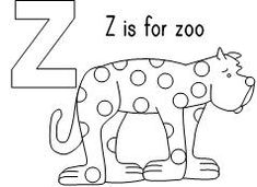z is for zoo coloring page z for zoo in 2020 abc coloring pages abc coloring page coloring for is z zoo