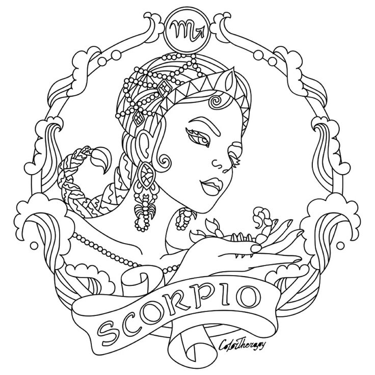 zodiac coloring pages 253 best zodiac coloring pages for adults images on zodiac coloring pages